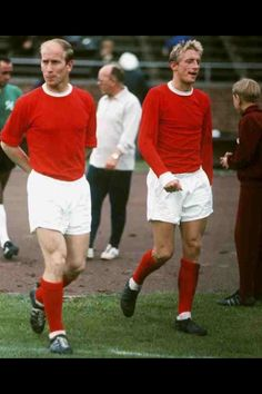 Charlton & Law Manchester United Legends.....