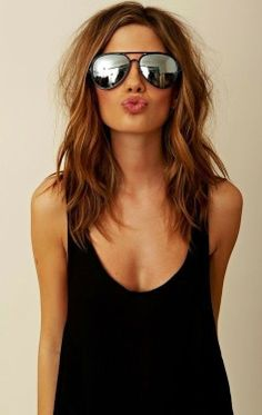 Chic and Silk: ΜΑΛΛΙΑ: Χτενίσματα και ιδέες για μεσαίου μήκους μαλλιά!