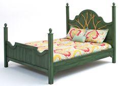 Barnwood Furniture, Rustic Furnishings, Log Bed, Cabin Decor, Harvest Tables, Mission Beds