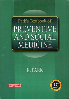 Park's Textbook of Preventive and Social Medicine 23rd edition eBook PDF Free Download