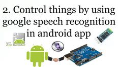 This video is a part of video tutorial series android meets arduino, in this tutorial you will learn about how to create app to control arduino by voice comm...
