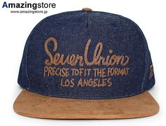the format indigo denim strapback cap 7 union 1 d4e1316f6750