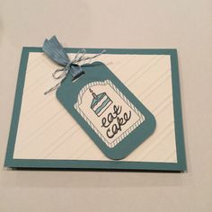 Stampin Up  One Tag Fits All