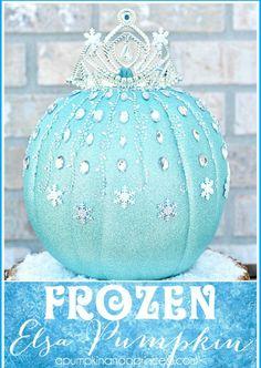 Frozen-Elsa-Pumpkin