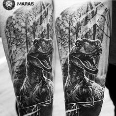 Velociraptor Tattoo