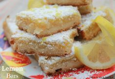 yummy {and easy} lemon bars