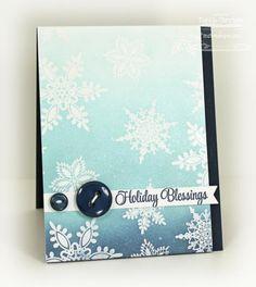 Snowflake Resist card