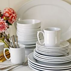 Williams Sonoma Pantry Dinnerware- cereal bowls