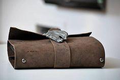 Lisbet / kožený zápisník Travel bag HORSE