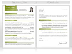 "Make sure your CV & cover letter have the same ""look & feel""."