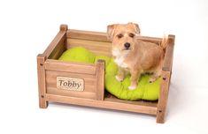 Pet bed, Wooden dog bed, Cat bed, Bed with a dog name, Dog bed, Dog hut, Pet cot, Dog cot, Hut for kitten, Dog house, Cottage for kitten by WoodRestart on Etsy https://www.etsy.com/listing/531505582/pet-bed-wooden-dog-bed-cat-bed-bed-with