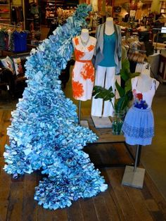 anthropologie visual displays