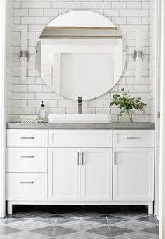 Find bathroom ideas for bathroom remodel and bathroom modern, bathroom design, bathroom vanity, bathroom inspiration and more with before and after bathrooms Read Bathroom Renos, Bathroom Renovations, Small Bathroom, Bathroom Storage, White Bathroom Vanities, Bathroom Organization, Bathroom Furniture, Bathroom Makeovers, Bathroom Fixtures