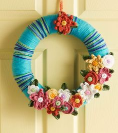 How To Make An April Flowers Wreath