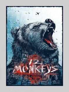 12 Monkeys (1995)  HD Wallpaper From Gallsource.com