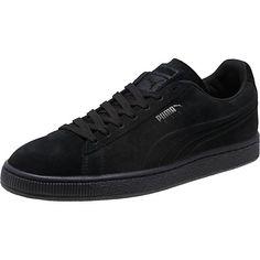 4380be79fc135d Puma - Men s Suede Emboss Iced Sneaker - Black Mono Puma Sneakers
