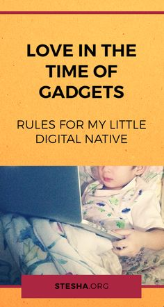 Love in the time of hashtags: increasing technological advancements beside increasing cries to decrease use of said technological advancements. Kids Gadgets, Pretty Cool, Parenting Hacks, Nativity, Technology, Digital, Fun, Tech, The Nativity