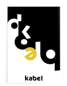 kabel, type poster - www.corneliavarlam.com