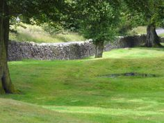 """The Antonine Wall, a 60-km long fortification in Scotland was started by Emperor Antonius Pius in 142 AD as a defense against the """"barbarians"""" of the north. It constitutes the northwestern-most portion of the Roman Limes."""