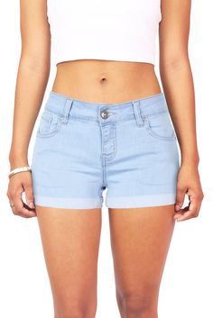 Women's fashion, periods and trousers – The Guardian – Fashion Outfits Casual Summer Outfits, Short Outfits, Cool Outfits, Summer Clothes, Cute Shorts, Striped Shorts, Denim Shorts, Light Denim, College Outfits