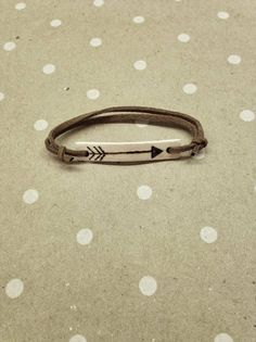 wood burned arrow bracelet by wooderie on Etsy, $14.00