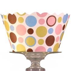 Cupcake Couture Wrappers : Cupcake wrapper polkadot. Includes 12 | Cake Decoration Store