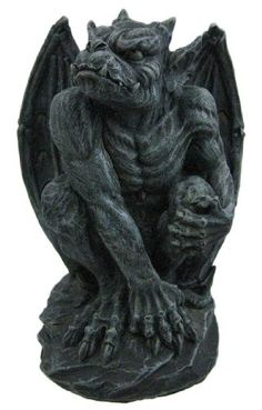 Poised Protector Winged Gargoyle Statue Guardian Private Label http://www.amazon.com/dp/B003IF1VNO/ref=cm_sw_r_pi_dp_lBaXtb0BMB12XCE3