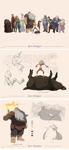 """A bonita arte do filme """"Le jour des Corneilles""""    http://theconceptartblog.com/2012/10/07/a-bonita-arte-do-filme-le-jour-des-corneilles/"""
