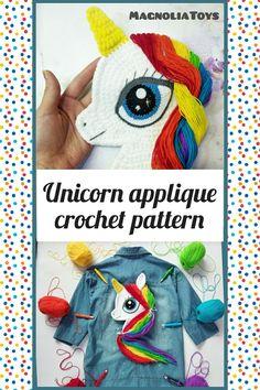 Crochet Unicorn Blanket, Crochet Unicorn Pattern, Crochet Horse, Unicorn Pillow, Crochet Patterns Amigurumi, Handmade Toys, Handmade Ideas, Etsy Handmade, Unicorn Headband