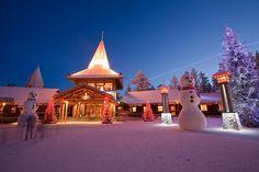 Santa Klaus Village, Lapland