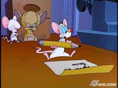 Pinky And The Brain Christmas Letter.59 Best Pinky And The Brain Images Brain 90s Cartoons