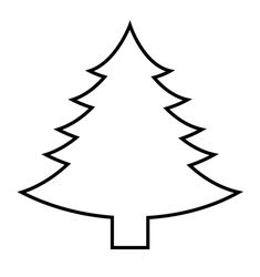 Weihnachtsbaum vorlage schablone