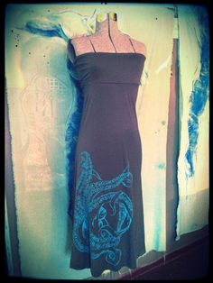 Tentacle Long Skirt by OctopusInkClothing on Etsy, $42.00