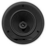 """Bowers & Wilkins - 8"""" 2-Way Round In-Ceiling Speakers (Pair) - White/Black"""