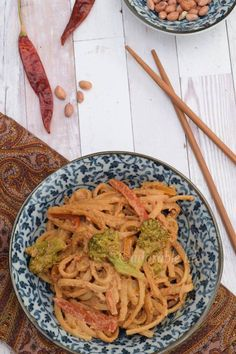 Veg Pasta in Spicy Peanut Sauce: Hello everyone..!! I'm really happy to share this recipe of pasta with you all.. I always wanted to try peanut pasta.. Finally it happened.. Must say it was really yummy and satisfying.. Peanuts are good sources of vitamin E, protein and manganese. So Wit