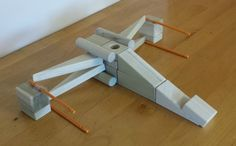 The new Star Wars movie is almost here! Dec. 18 is the big day! Instruct your kids in the ways of the force. Help them build this X-Wing Fighter from their wooden building blocks!  Find complete instructions at http://backtoblocks.com/blog/backtoblocks_blog_wooden_building_blocks_star_wars_x_wing_fighter/
