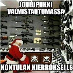 Joulupukki matkaan jo käy