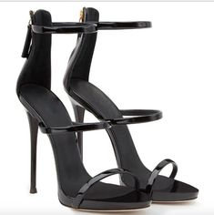 Simple Style Zipper Stiletto Heel Ankle Strap High Heel Sandals sold by Shoes Party. Shop more products from Shoes Party on Storenvy, the home of independent small businesses all over the world. Ankle Strap High Heels, Open Toe High Heels, Platform High Heels, Black High Heels, Stilettos, Stiletto Heels, Shoes Heels, Pumps, Women's Shoes