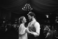Bride and Groom First Dance - Blest Photography - NC Wedding Planner - Orangerie Events
