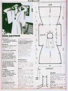 Dress Pattern Draft: Dress from www.club.osinka.ru