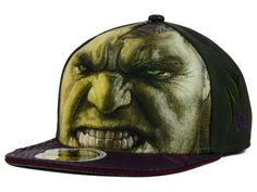 Marvel Hulk Character Face 2015 59FIFTY Cap Hats