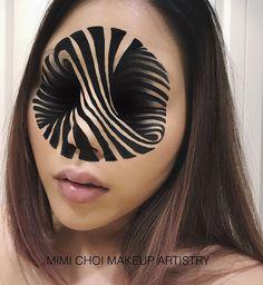 Maquillage réaliste halloween par Mimi Choi.