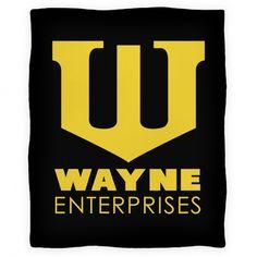 Wayne Enterprises Blanket #batman #brucewayne