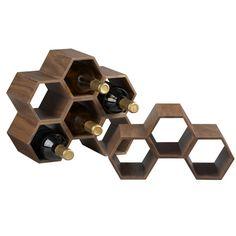Porte- #bouteilles. En vente chez Crate and Barrel. Info: crateandbarrel.ca. Prix: 29.95$.