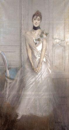 Ritratto di Emiliana Concha de Ossa di Giovanni Boldini 1888