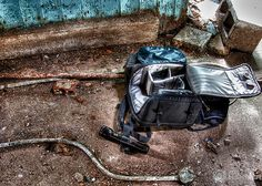 the #urbex survival kit. my own work. #arthakker #hdr #photography #urbex