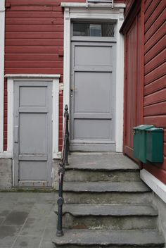 Haugesund Garage Doors, Building, Outdoor Decor, Home Decor, Homemade Home Decor, Buildings, Decoration Home, Construction, Architectural Engineering