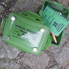 Official Geocache! Lock&Lock type containers are nice for keeping contents dry. #IBGCp
