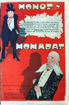 caratula de Monos y Monadas#96 del 6 de noviembre de 1907