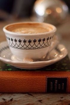 Very nice cup of coffee
